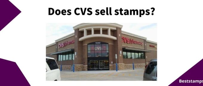 banner for a guide on CVS that sell stamps