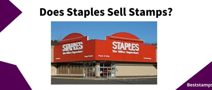 banner for a guide on staples that sell stamps