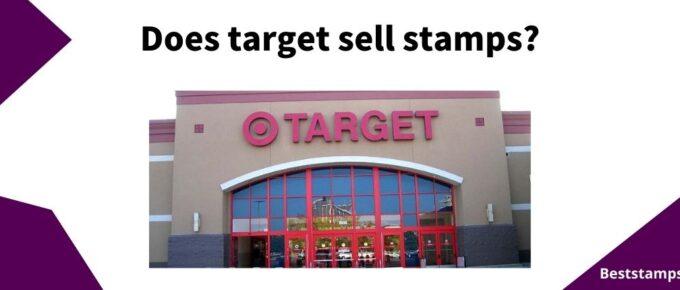 banner for a guide on target that sell stamps
